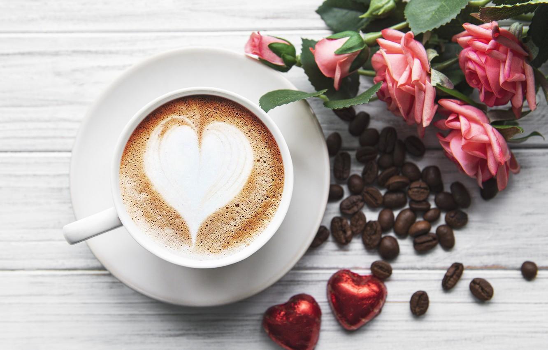 фото фото кофе розы и сердце начальной стадии герпеса