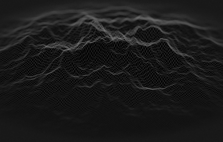 Фото обои абстракция, фон, обои, черный, текстура, Линии