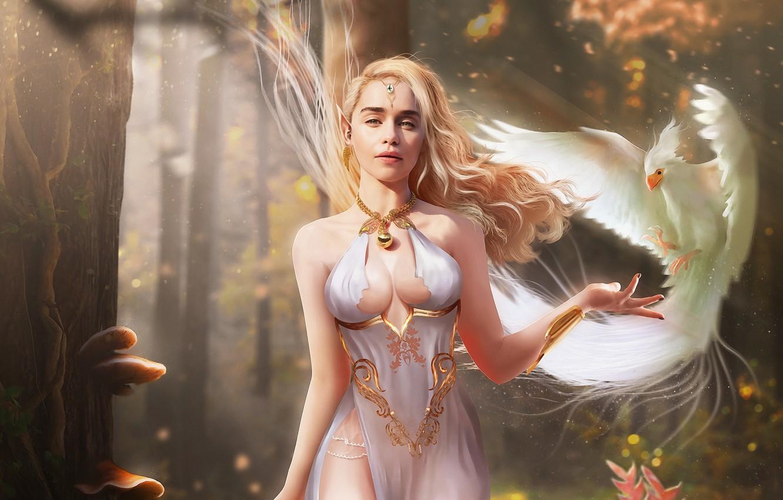 Фото обои украшения, красота, большая грудь, beauty, очарование, blonde hair, jewelry, big breasts, женственность, charm, femininity, белокурые …