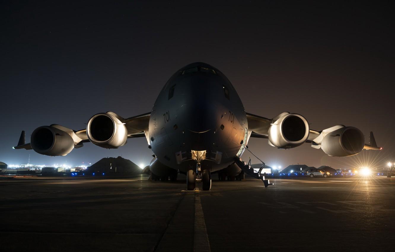 Фото обои аэропорт, самолёт, CC-177 Globemaster