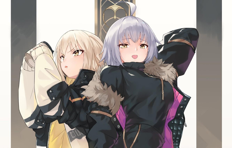 Фото обои девушки, Avenger, Jeanne d'Arc, Fate / Grand Order, Alter, Судьба великая кампания