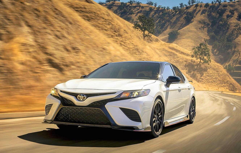 Фото обои Toyota, TRD, Camry, 2020, Toyota Camry, 2020 Toyota Camry TRD