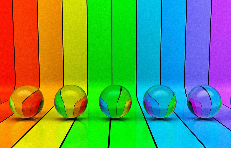Обои шар, краски. Абстракции foto 14