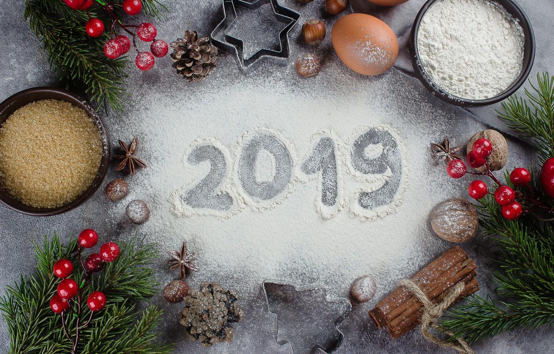 Фото обои украшения, Новый Год, Рождество, Christmas, New Year, decoration, xmas, Merry, fir tree, ветки ели, 2019