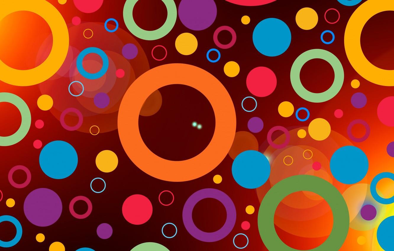 Обои краски, узор, Кольцо, Цвет. Абстракции foto 7