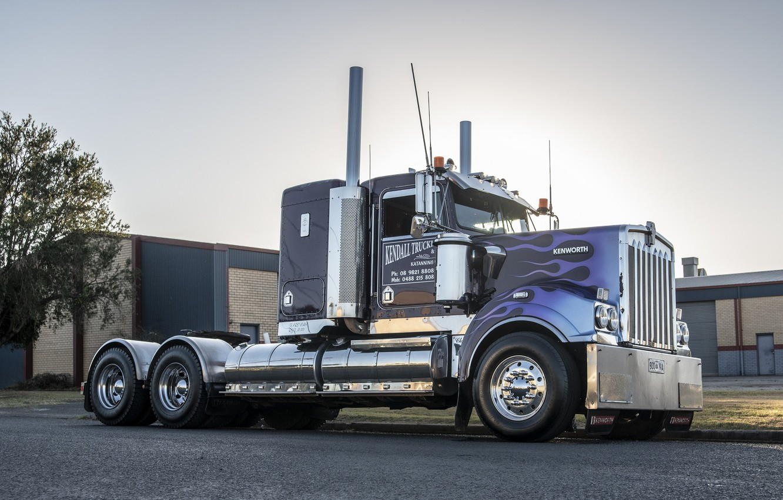 Фото обои Truck, Kenworth, T409