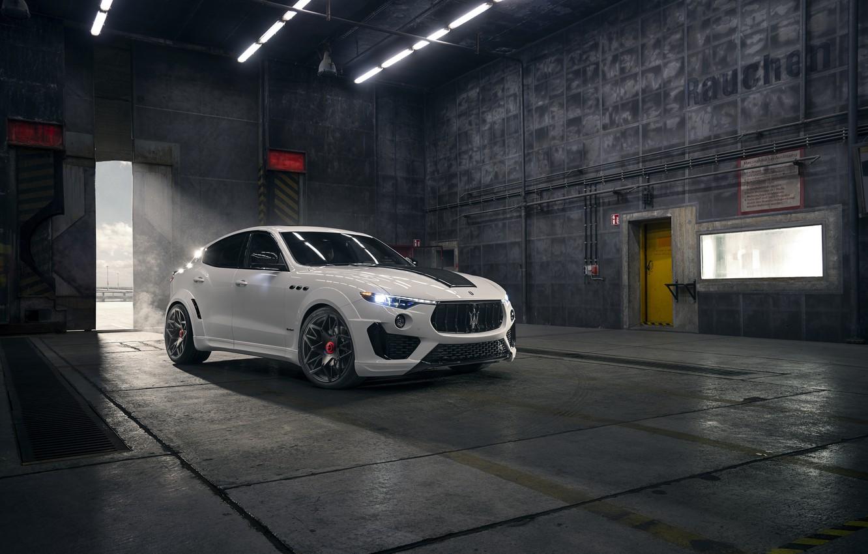 Фото обои Maserati, кроссовер, Rosso, Novitec, 2020, Q4, GranSport, Levante S, Esteso V2
