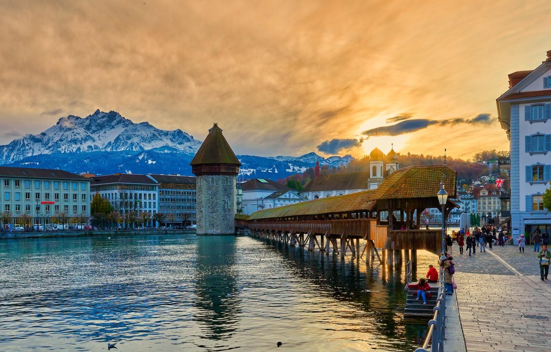 Обои люцерн, швейцария. Города foto 19