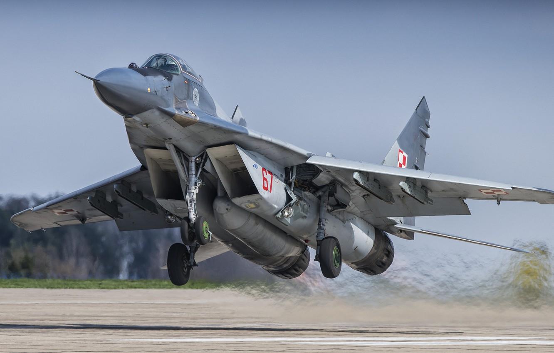 Обои МиГ-29М, ВВС Польши, многофункциональный истребитель. Авиация foto 11