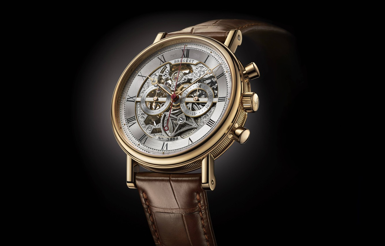 Фото обои время, стиль, часы, черный фон, швейцарские, наручные, мужские, Брегет, Breguet-Montre-Only-Watch