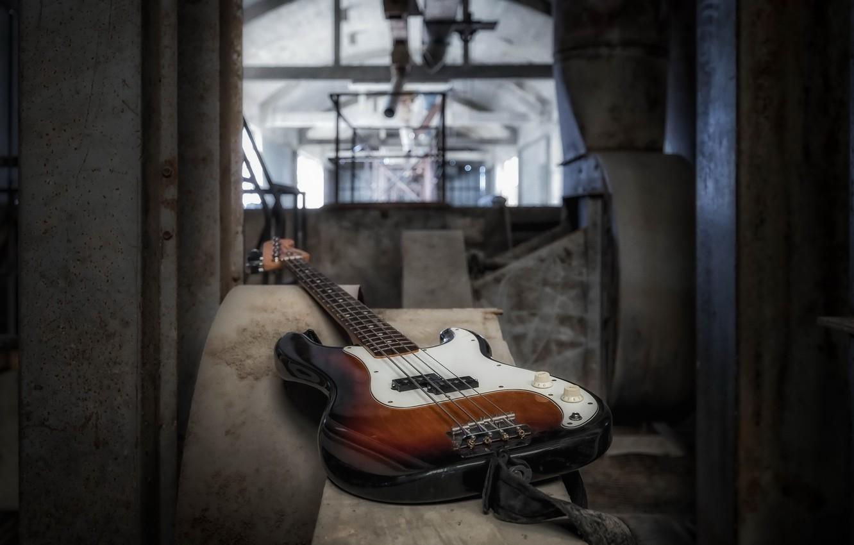 Фото обои музыка, гитара, инструмент
