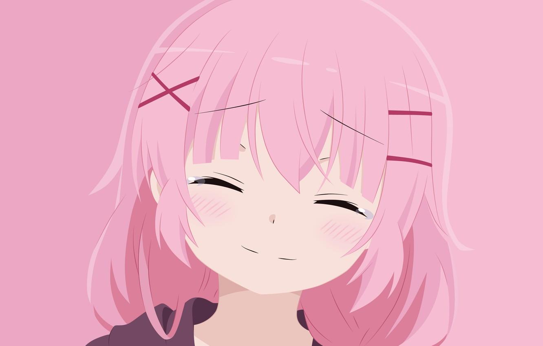 Фото обои девочка, слёзы, розовый цвет, Comic Girls