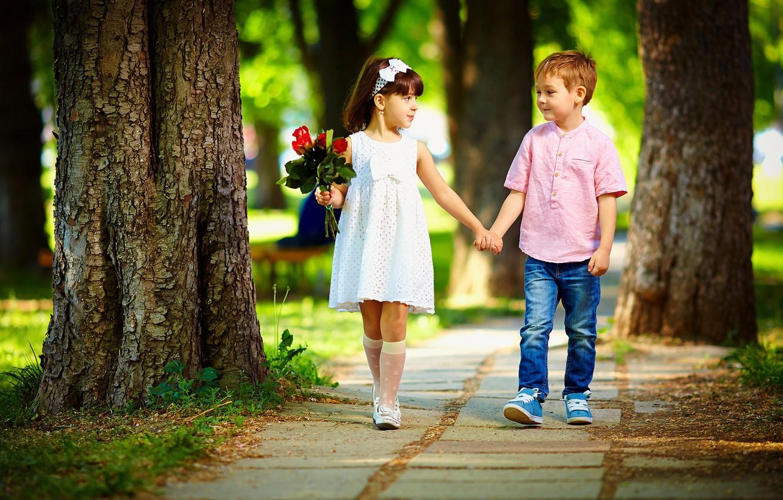 Девочка с мальчиком картинки любовь