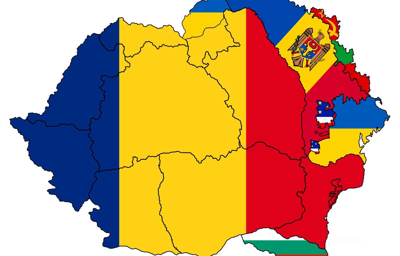 Фото обои флаг, custom, румыния, flag, украина, молдова, romania, болгария, границы, молдавия, приднестровье