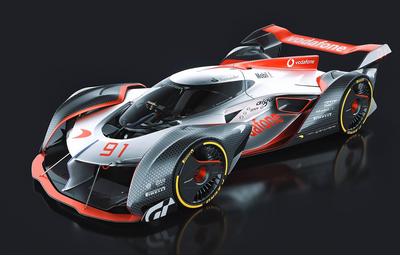 Фото обои McLaren, gran turismo, Гоночный автомобиль, mclaren-ultimate-vision-gran-turismo
