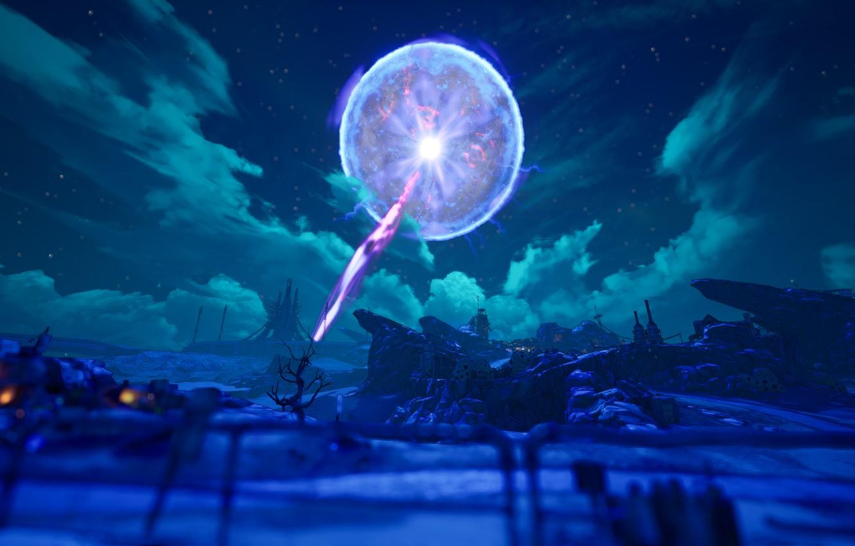 Фото обои moon, pandora, Borderlands 3