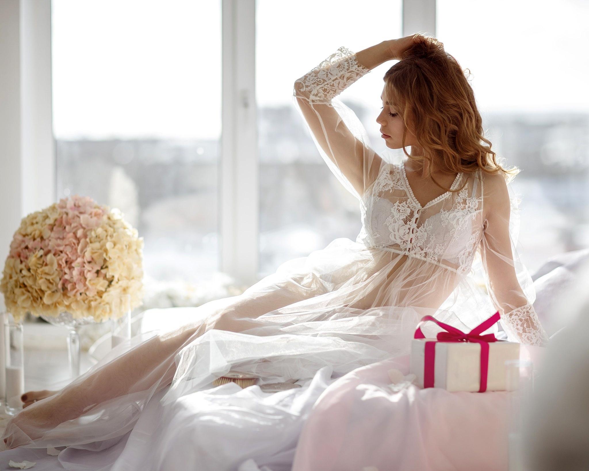 невеста в нижнем белье для брачной ночи фото проходят
