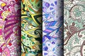 Картинка абстракция, colorful, patterns, seamless, пейсли