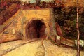 Картинка арка, тунель, Винсент ван Гог, Underpass, Roadway with, The Viaduct