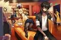 Картинка бар, бандиты, заложник, Моя геройская академия, Boku No Hero Academia
