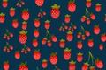 Картинка ягоды, фон, текстура, клубника, background, pattern, Strawberries