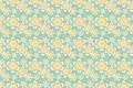 Картинка цветы, желтый, текстура, салатовый фон